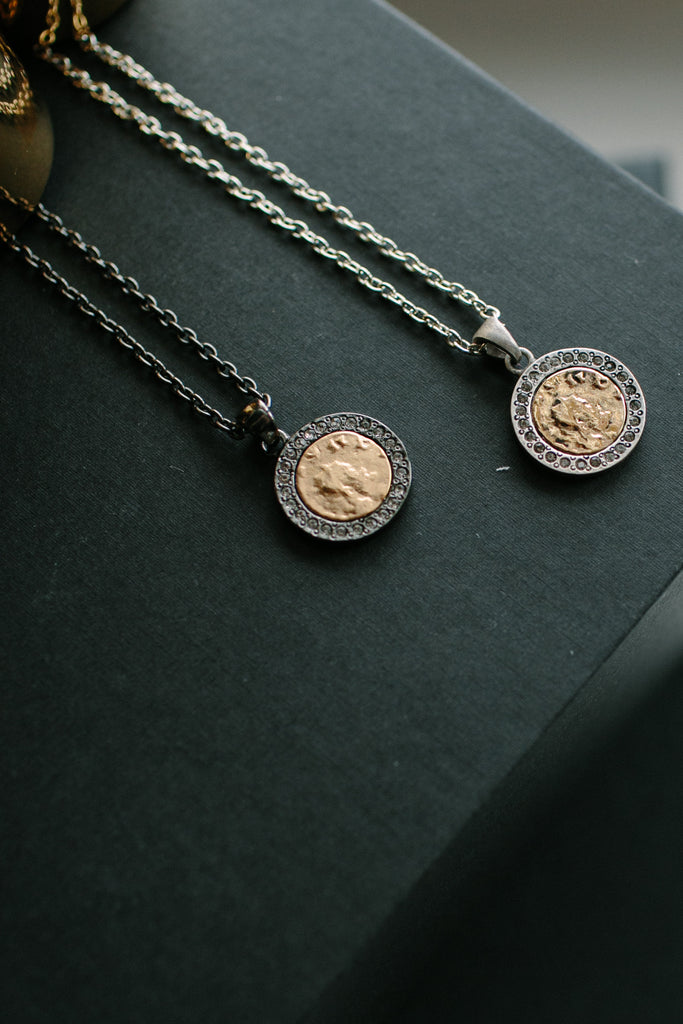 Tat 2 Coin Necklace