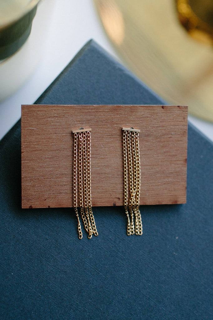 Annika Inez Drape Earrings