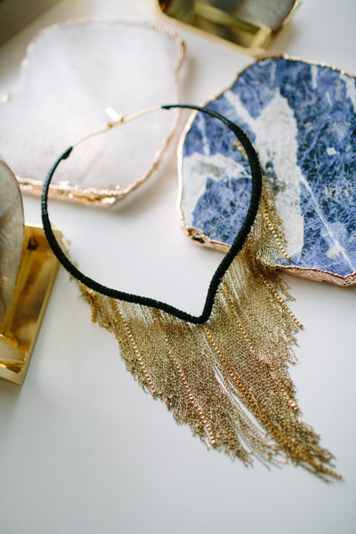 MILLIANNA Elia Chain Necklace in Gold