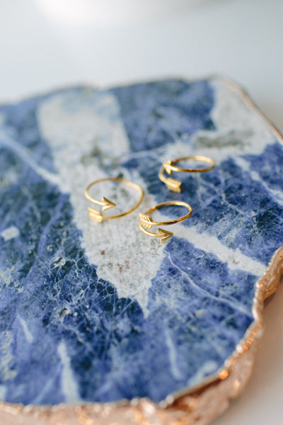 Katie Dean Jewelry Gold Arrow Ring