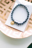 SATYA Midnight Jade Third Eye Chakra Bracelet