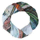 Good & Co Printed Scarf: East v West