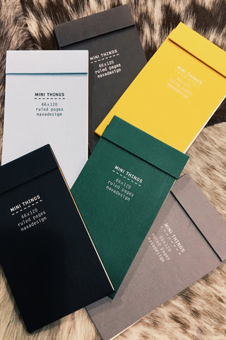 NAVA MINI THINGS NOTEBOOK In Assorted Colors