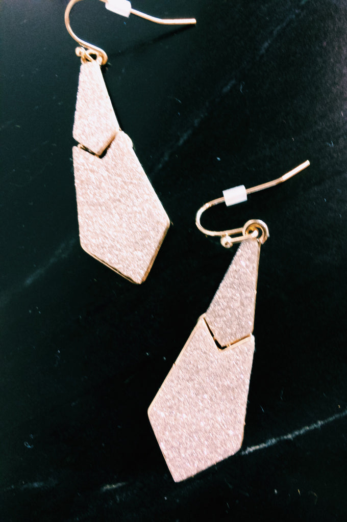 SHIMMER EARRINGS.