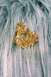 KATIE DEAN JEWELRY Three Bar Ring in Gold