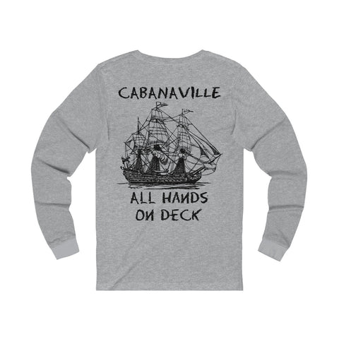 'All Hands On Deck' Long Sleeve Tee (6 colors available)