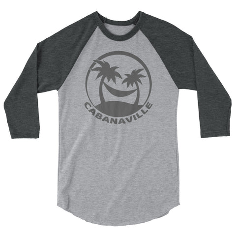 Gray on Gray 3/4 Sleeve Shirt