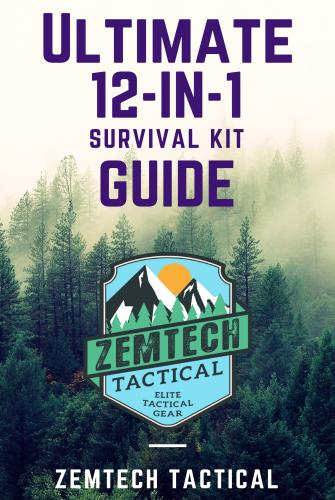 12-in-1 Survival kit with Bonus First Aid Kit & FREE eBook