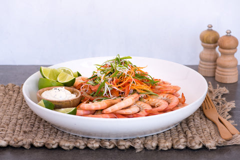 Summer Prawn Dish - Catering Menu Summer 2018-19