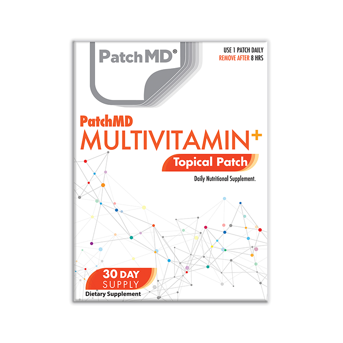 MultiVitamin Plus Topical Patch 30 Day Supply 30 Patches