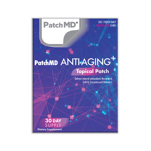 Anti-Aging Plus | Topical Patch 30 Day Supply | 30 Patches