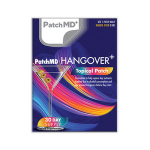 Last Call Hangover Prevention | Topical Patch 30 Day Supply | 30 Patches