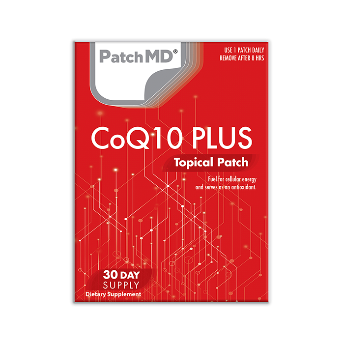 CoQ10 Plus Topical Patch 30 Day Supply 30 Patches