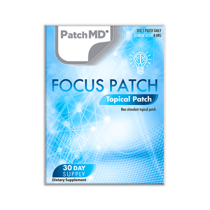 Focus Plus | Topical Patch 30 Day Supply | 30 Patches
