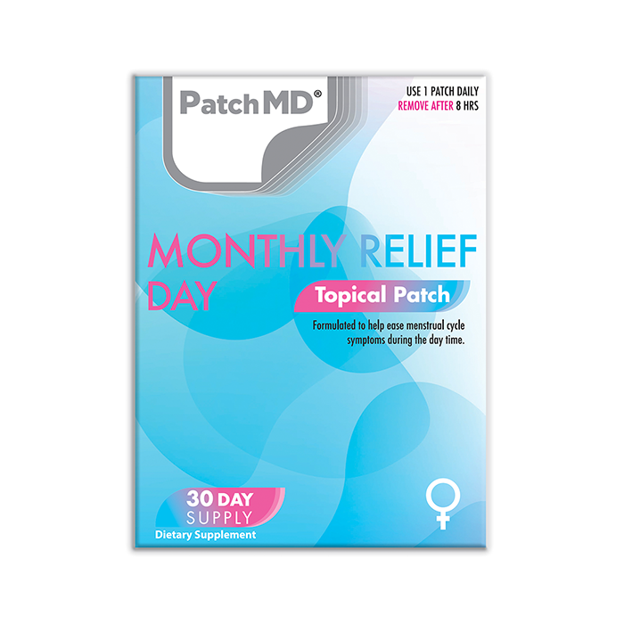 PMS Day | Topical Patch 30 Day Supply | 30 Patches
