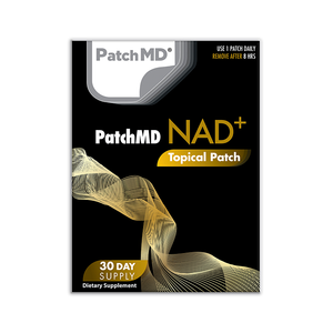 NAD Total Recovery | Topical Patch 30 Day Supply | 30 Patches