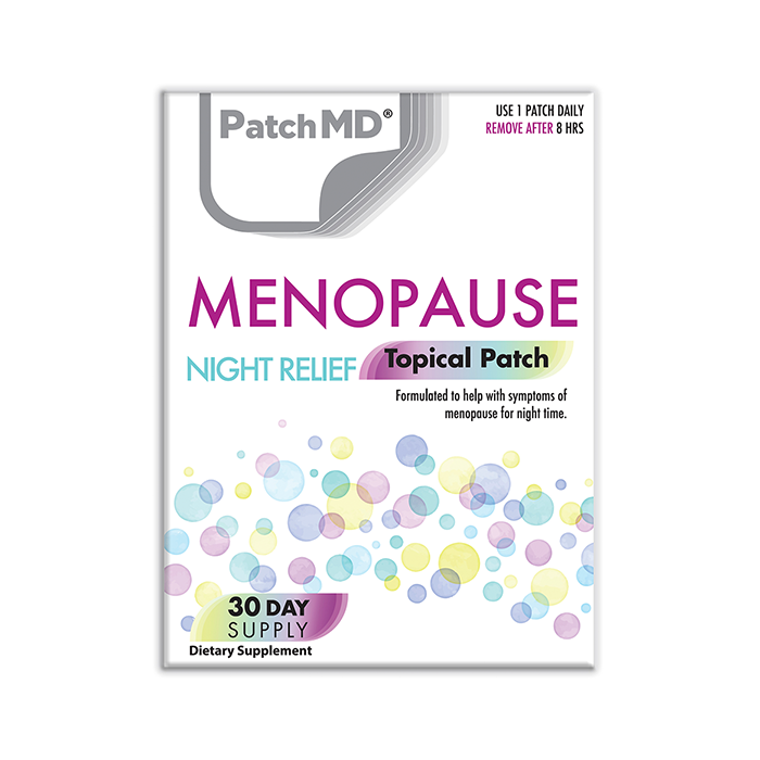 Menopause Night Relief (Topical Patch 30 Day Supply) - 30 Patches