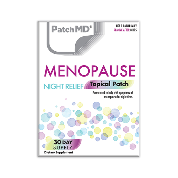 Menopause Night Relief Topical Patch 30 Day Supply 30 Patches