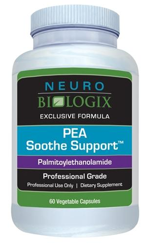 PEA Soothe Support (Palmitoylethanolamide) | 350mg | 60 Capsules