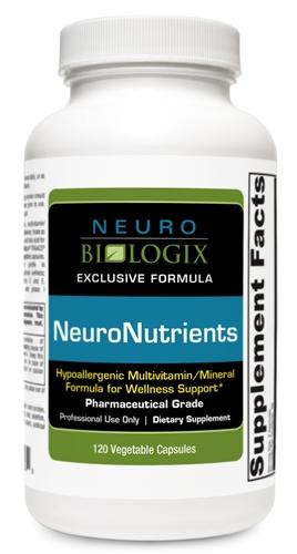 NeuroNutrients with Iron 120 Capsules