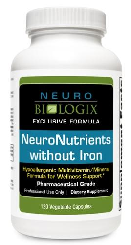 NeuroNutrients without Iron 120 Capsules