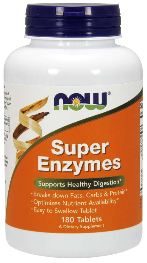 Super Enzymes | 180 Tablets