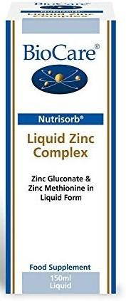 Nutrisorb Liquid Zinc Complex | 150ml