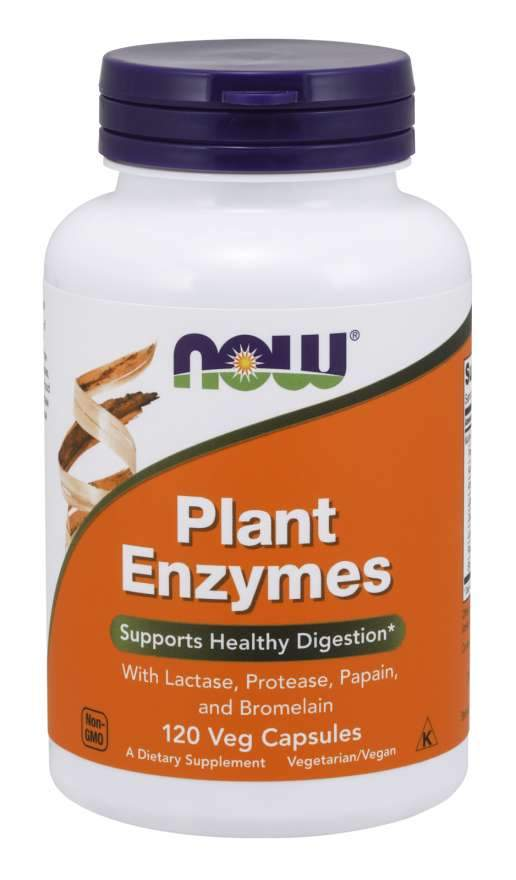 Plant Enzymes | 120 Capsules
