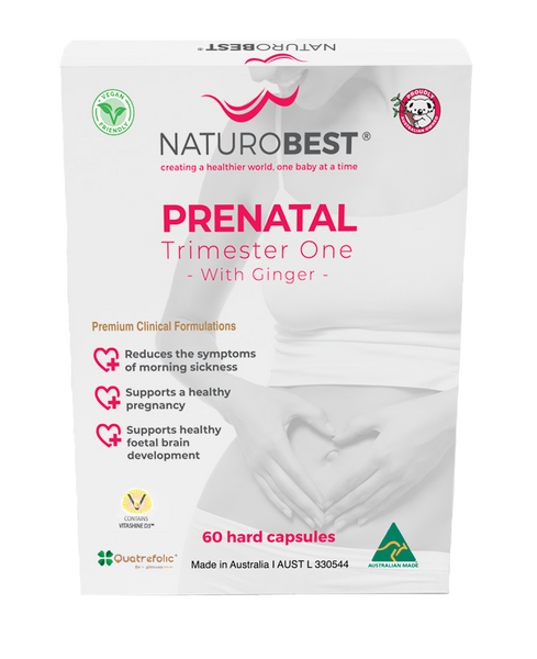 Prenatal Trimester One with Ginger | 60 Capsules