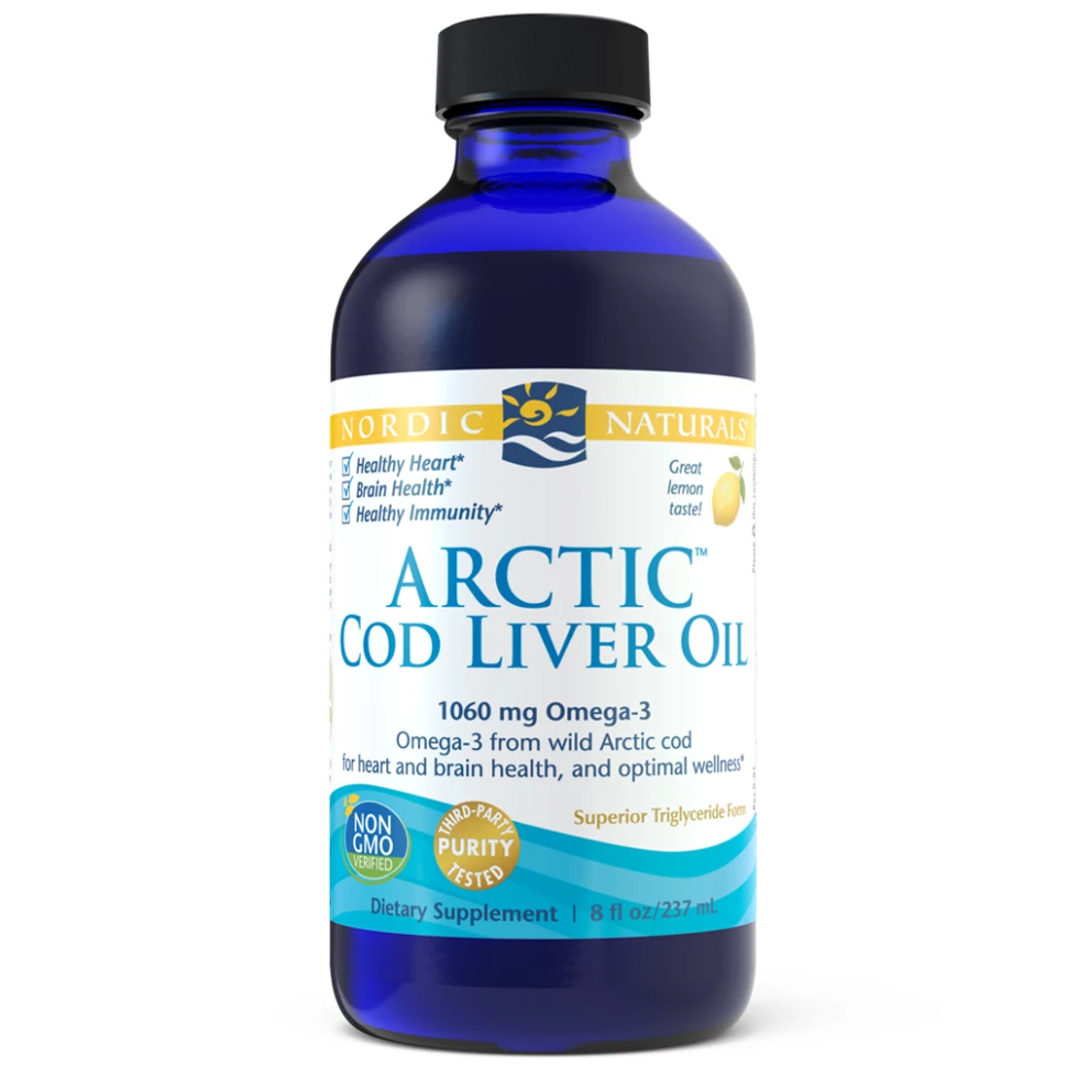 Arctic-D Cod Liver Oil Lemon Flavour 237 ml