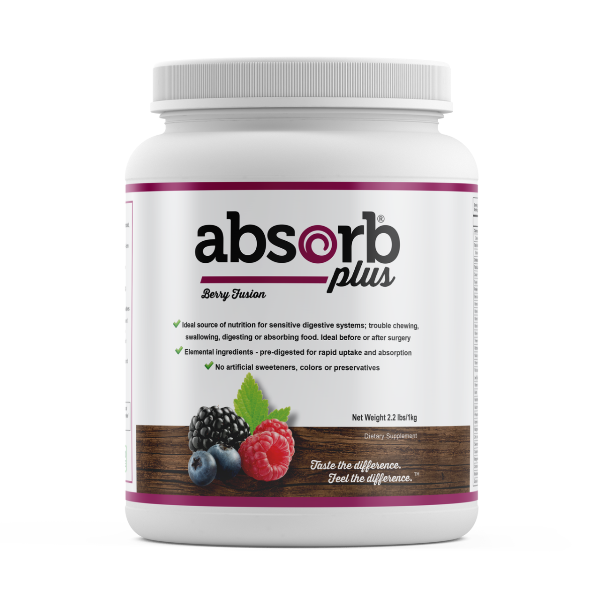 Absorb Plus Berry Fusion 1kg