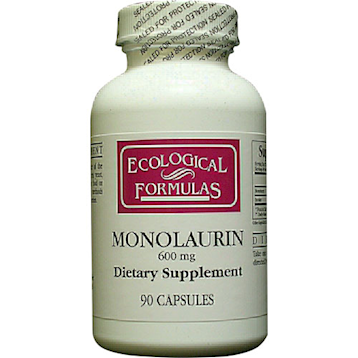 Monolaurin (Lauric Acid) 600mg 90 Capsules