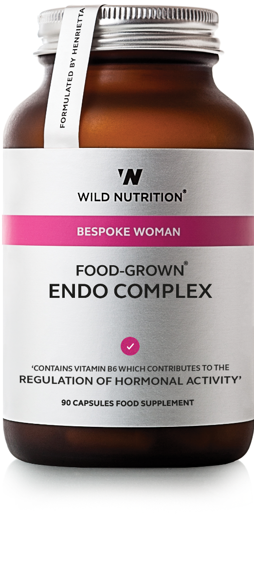 Endo Complex Women's Food-Grown 90 Capsules