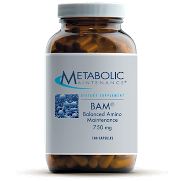 BAM (Balanced Amino Maintenance) | 750mg | 180 Capsules