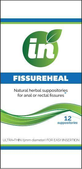 FissureHeal Suppositories Box of 12