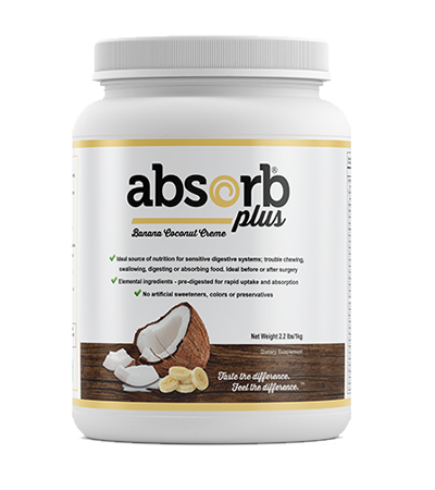 Absorb Plus Banana Coconut Creme - 1kg