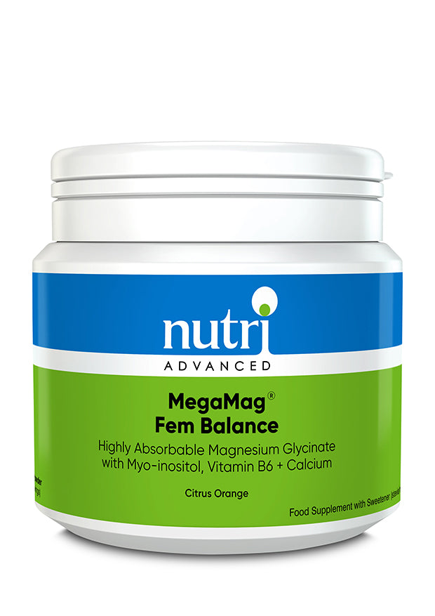 MegaMag Fem Balance | Citrus Orange | 30 Servings