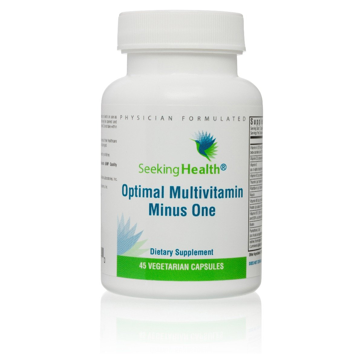 Optimal Multivitamin Minus One 45 Capsules