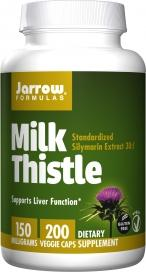 Milk Thistle 150mg 200 Capsules