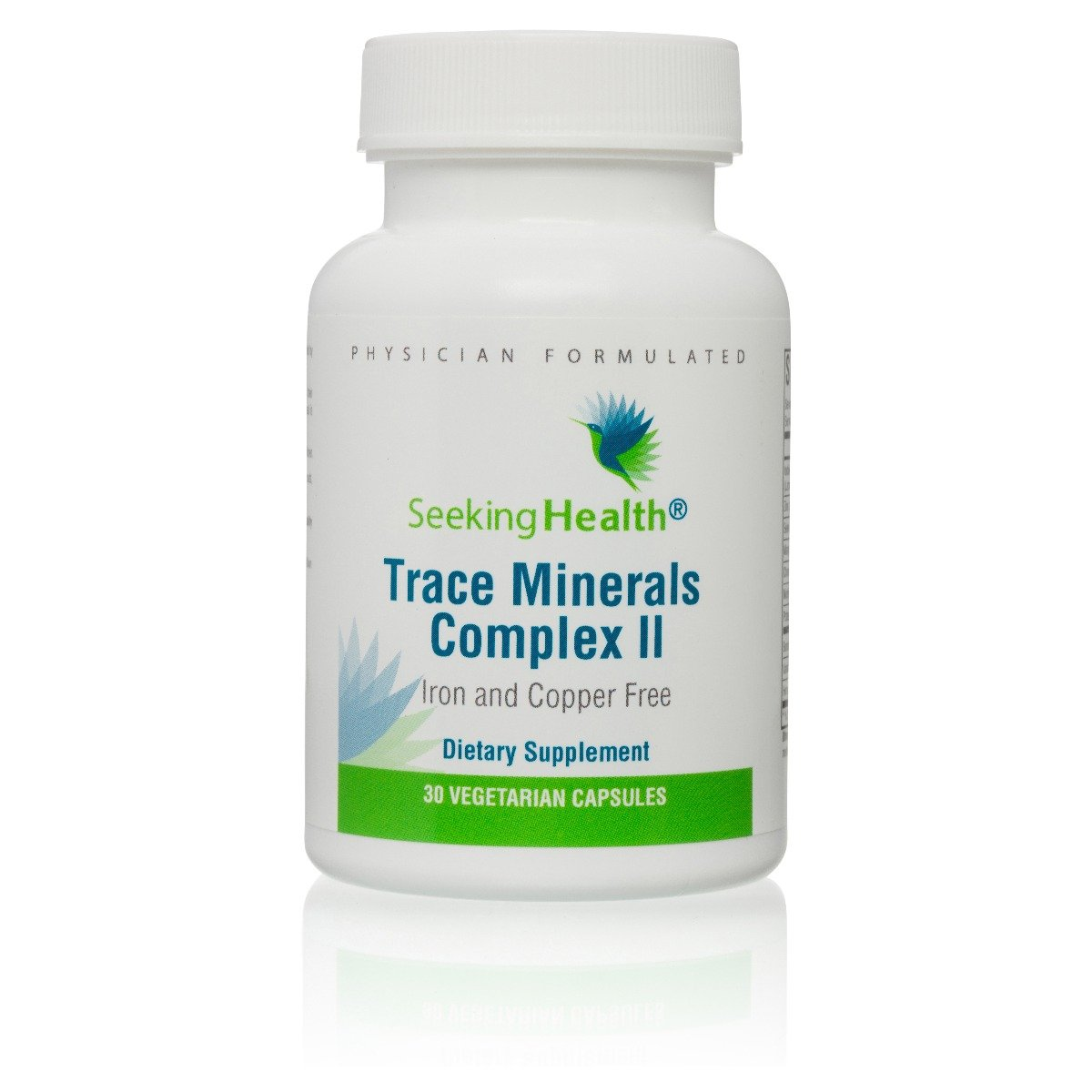 Trace Minerals Complex II Iron and Copper Free 30 Capsules