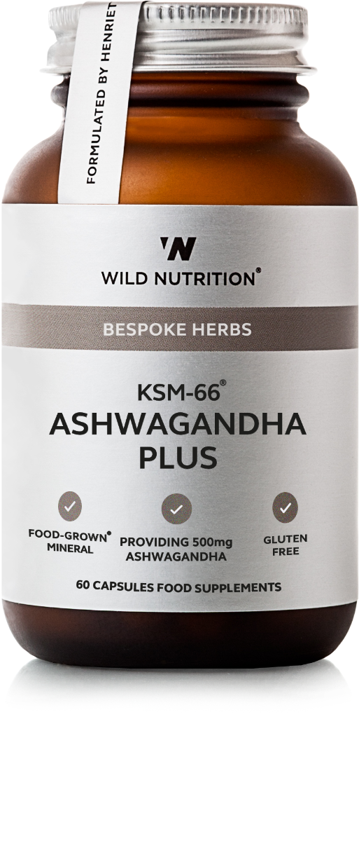 KSM-66 Ashwagandha Plus Food-Grown 60 Capsules
