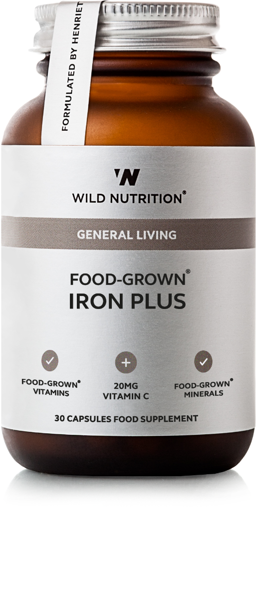 Iron Plus Food-Grown 30 Capsules