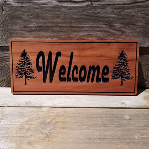 Welcome Sign - Carved Sign...