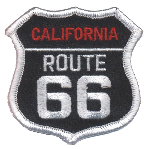 California Patch - Route 66 - Road Sign