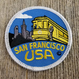 San Francisco Patch - Cable Car - City Skyline