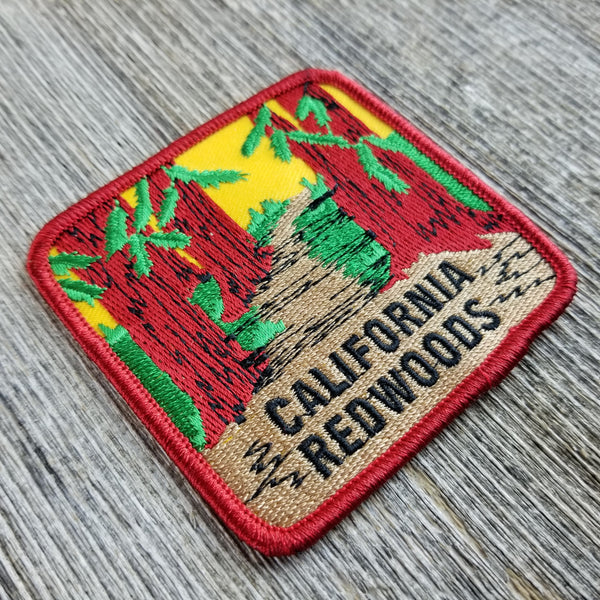 California Patch - Redwoods California - Redwood Forest