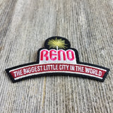 Reno Patch - Biggest Little City in the World Sign - Nevada