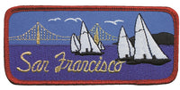 San Francisco Patch - Golden Gate Bridge - California Souvenir