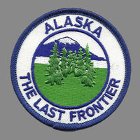 Alaska Patch - The Last Frontier - Trees - Forest