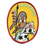 Arapaho Patch - Native American Indian Warrior